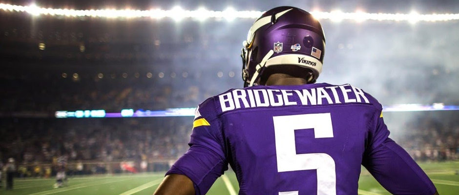 Teddy Bridgewater Out For Season After Suffering Dislocated Knee Cap and Torn ACL