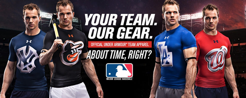 Muslo engañar Confesión  Under Armour and the MLB Announce 10-Year Partnership