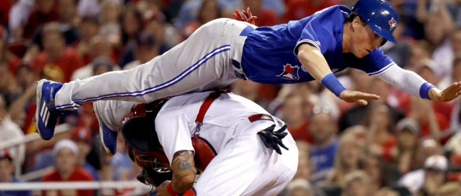 Video: Chris Coghlan Goes Airborne to Avoid Tag