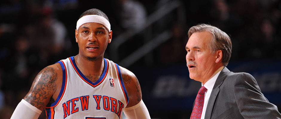 Mike D'Antoni Confirms What We Already Knew: He Left Knicks in 2012 Because of Carmelo Anthony