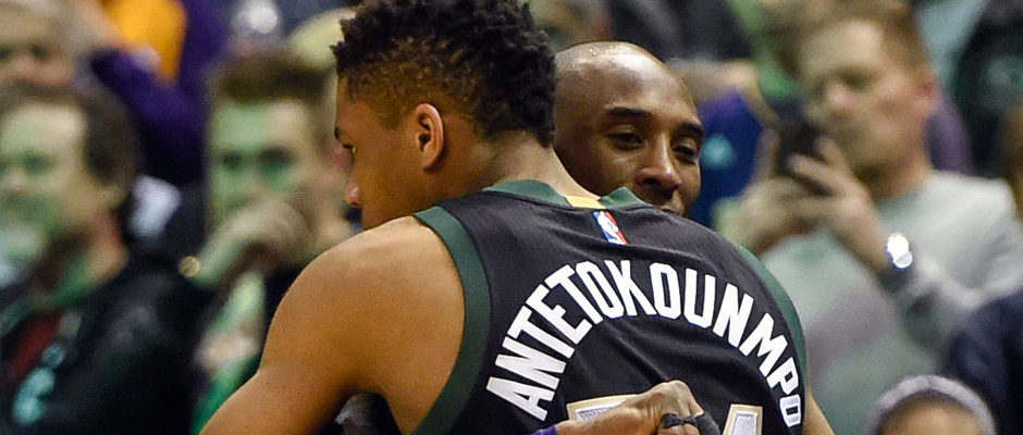 Kobe Bryant Challenges Giannis Antetokounmpo to Win MVP in 2017-18