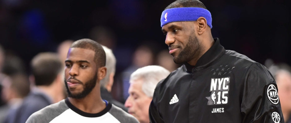 Chris Paul Reportedly Already Recruiting LeBron James to Rockets