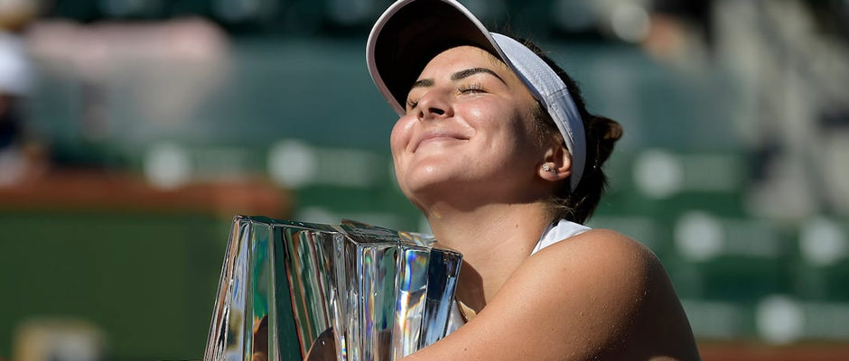 Bianca Andreescu Defeats Angelique Kerber to Claim Indian Wells Open