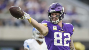 Kyle Rudolph and the Vikings Agree to 4-Year, $36M Contract Extension